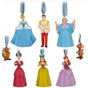 NIB Disney Limited Edition Cinderella Ornament Set